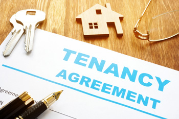Will you be using a standard rental agreement for a six month tenancy, if a domestic property?